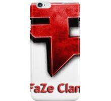 FAZE Official T-shirt iPhone Case/Skin