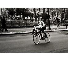 Etta & Butch Go for a Ride Photographic Print