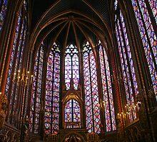 Sainte -Chapelle (Paris) : The upper Chapel by Fran0723