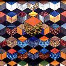 31 - HEXAGON DESIGN - 02 - DAVE EDWARDS - COLLAGE by BLYTHART