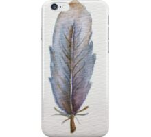 Blue Feather iPhone Case/Skin