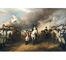 Surrender of Lord Cornwallis Photographic Print