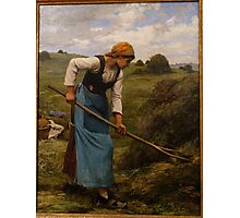 The Harvester by Julien Dupre, c. 1880-1881 Photographic Print