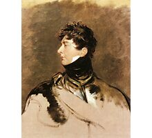 The Prince Regent by Sir Thomas Lawrence, c. 1814. Photographic Print