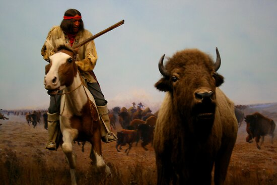 Native American Hunter by Larry Trupp