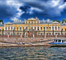 Sheremetev Palace, Saint Petersburg, Russia by vadim19