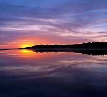 Lake Tyers Sunset by Travis Easton