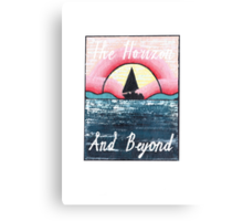 The Horizon & Beyond Canvas Print