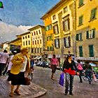 Afternoon in Pisa by Ed Luschei