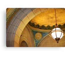 Boston Public Library Canvas Print