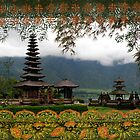 Balii Batik, Hindu Temple, Bali, Indonesia by Jane McDougall