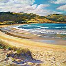 &#x27;Golden Shores&#x27; - (Apollo Bay) by Lynda Robinson