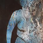 Printmaking: Nude, Into the Dark by Marion Chapman