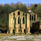 Ruined Abbey's of Yorkshire by Trevor Kersley