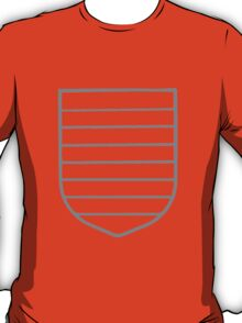 A Complete Guide to Heraldry - Figure 55 — Barry T-Shirt