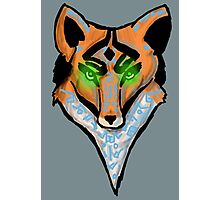 Mystical Fox Photographic Print