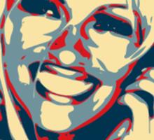 Pam for President! Sticker