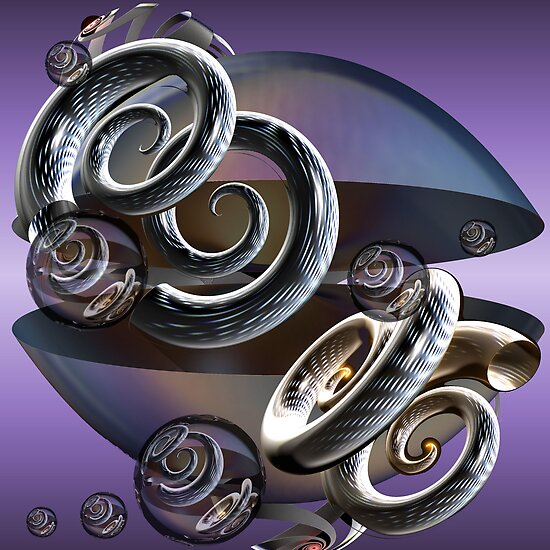 Purple Haze - Jimi Hendrix by Desirée Glanville