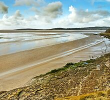 White Creek Bay, Arnside by Steve  Liptrot
