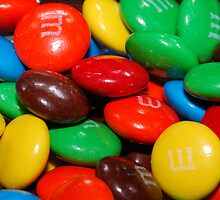 M&Ms by Crystal Wightman