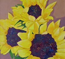 Sunflowers by RebeccaW