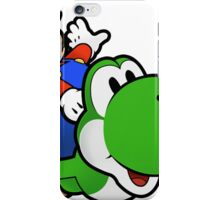 Paper Mario And Yoshi iPhone Case/Skin