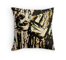The Crone and the Sword Throw Pillow