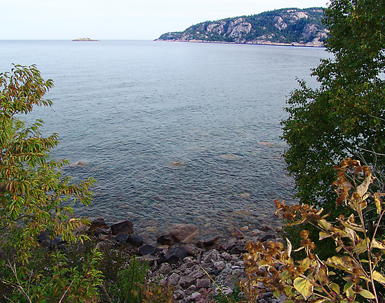 Old Woman Bay, Lake Superior by George Cousins