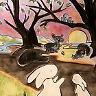 Rabbits and the Squirrels by Suzi Linden