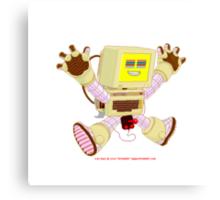 8 Bit Buzz v1.0 Canvas Print