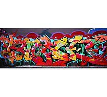 Richmond graffiti Photographic Print