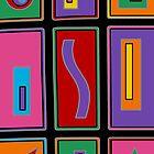 Retro Art - Vivid Colour #19 by sekodesigns