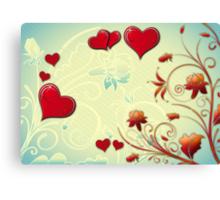 valentine Canvas Print