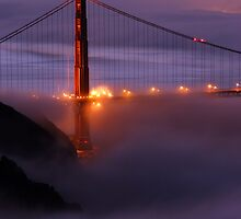 Golden Gate Bridge Sunrise by Chad Foreman