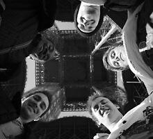 Group Photo Eiffel Tower by David Morgan