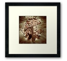 Darkshines Framed Print