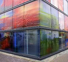 Decorated Glass Walls by AnnieSnel
