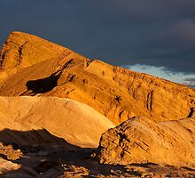Death Valley Hill at Sunrise by Nickolay Stanev