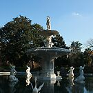 Forsyth Park Fountain by cfam