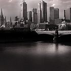 Melbourne City by MickDodds
