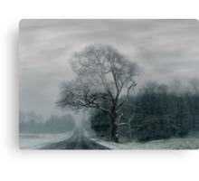 FOGGED TREE Canvas Print