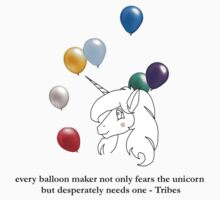 Unicorn in a Balloon Factory by Jeremy LeBard