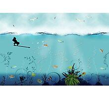 pêche Photographic Print
