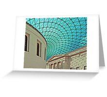 Green Web Greeting Card