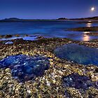 Rockpools & Moonlight by Garth Smith