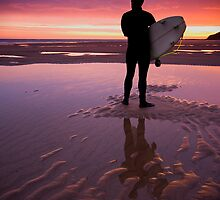 Sunrise Surfer by jammysam1680