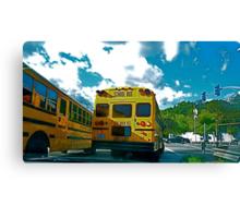The Magic School Bus Canvas Print