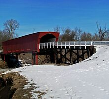Roseman Bridge by Linda Miller Gesualdo