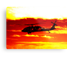 Avalon Airshow - Highrise Copter Metal Print