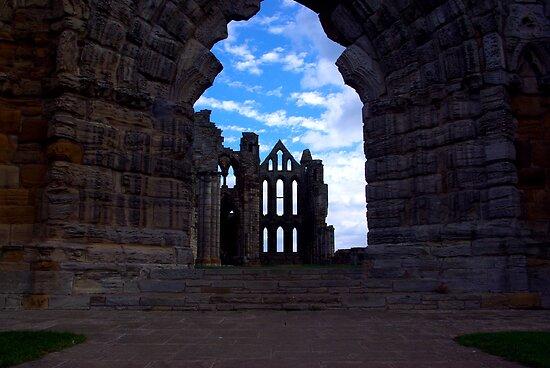 Whitby Abbey #3 by Trevor Kersley
